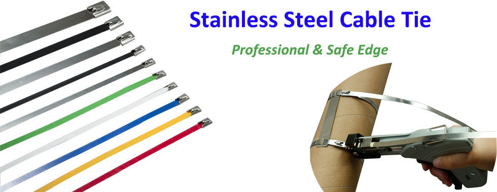 China best Stainless Steel Cable Zip Ties on sales
