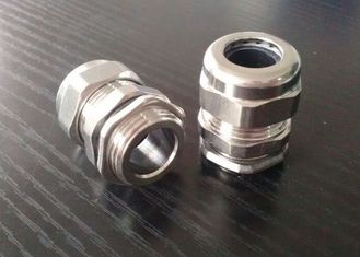 China Flameproof PG16 Cable Gland , Stainless Steel Wire Armoured Cable Glands  supplier