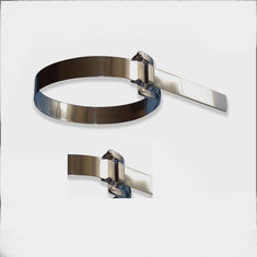 Exceptional Heavy Duty Reusable Zip Ties With Ear Buckles , 19mm Width Exterior Cable  Ties