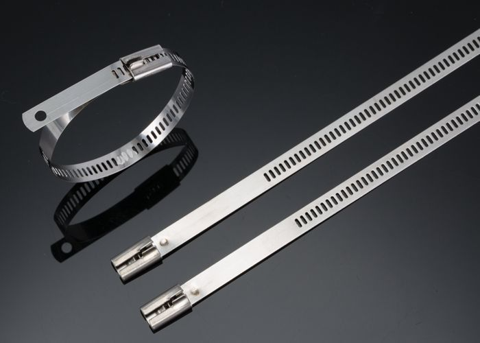 Naked Ladder Type Stainless Steel Cable Tie-Multi Lock Type