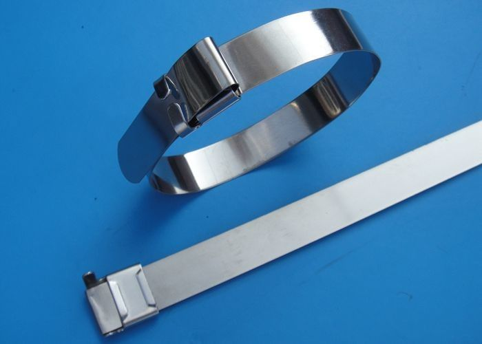 SS201 / 304 / 316 Stainless Steel Wire Ties With Wing Seals Locking ...