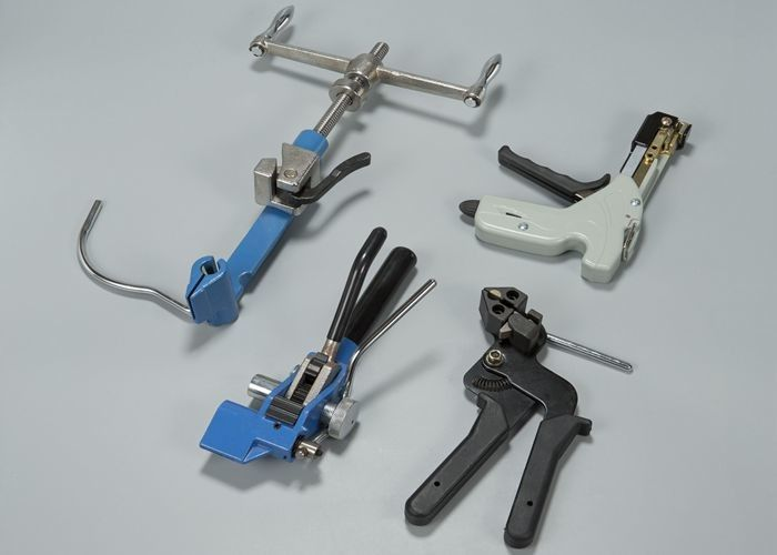 Professional Stainless Steel Cable Tie Tool / Cable Tie Tightening ...