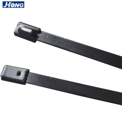 China Customized Adjustable Stainless Steel Tie Wraps Use In Telecommunication factory