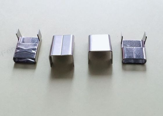 SS316 1/2 Inch Stainless Steel Banding Buckles For Extreme Temperatures Enviroments