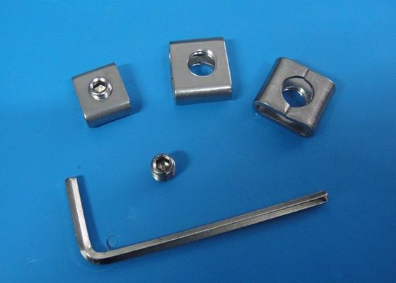 Custom Size Metal Banding Material , SS 304 Stainless Steel Screw Buckles