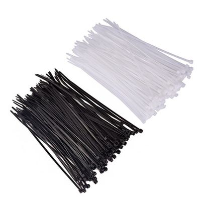 Stainless Steel Barb Nylon Cable Ties / Outdoor Zip Ties 4.8mm Width